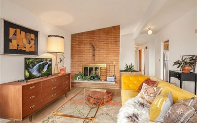 A Mix of Boho and Midcentury Staging Helped Sell this Home Quickly